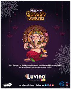 Shri Ganesh, Lord Ganesha, Happy Ganesh Chaturthi Images, Navratri Wishes, Brand Building, Promote Your Business, Business Marketing, Friends Family, Platforms