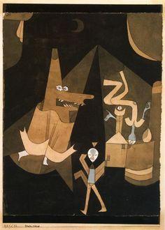 Paul Klee 'Witch Scene' 1921