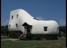 Fotos de las casas más raras del mundo