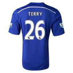Nueva Camiseta de Terry del Chelsea Primera 2014 2015