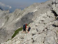 on the way, to our highest peak, Hochtor 2369m!