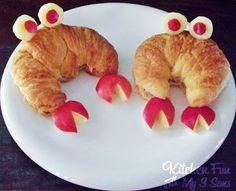 Kitchen Fun With My 3 Sons: Crabby Croissant Snapwich!