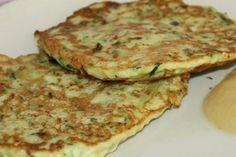 Pfannkuchen aus Zucchini