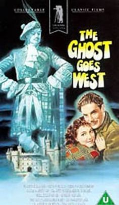 """""""THE GHOST GOES WEST"""" (1935) ROBERT DONAT, JEAN PETERS, EUGENE PALLETE"""