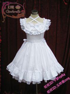 ◆幻境◆洋装洛丽塔盛夏冰激凌白雪连衣裙 新入荷特价推广中-淘宝网