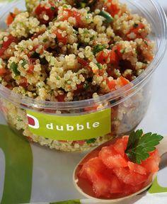 taboulé de quinoa Arabian Food, Salsa, Lunch, Restaurant, Fresh, Healthy, Ethnic Recipes, Gourmet, Arabic Food