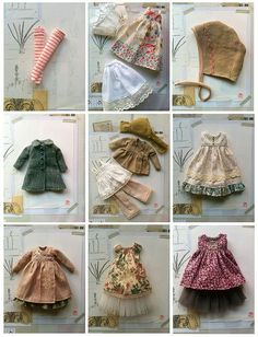 Ideas for doll clothes sewing patterns barbie dress Sewing Doll Clothes, Sewing Dolls, Girl Doll Clothes, Barbie Clothes, Girl Dolls, Dress Clothes, Doll Crafts, Diy Doll, Baby Born Kleidung