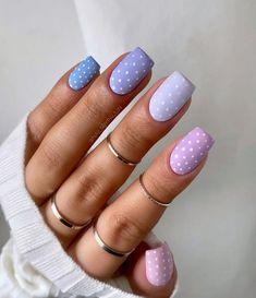 Girls Nail Designs, Best Nail Art Designs, Short Nail Designs, Chic Nails, Stylish Nails, Short Nails, Long Nails, Nail Design Video, Girls Nails