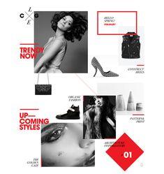 The Collage - Tablet App Abduzeedo Design Inspiration Creative Web Design, Web Ui Design, Email Design, Site Design, Layout Design, Graphic Design, Editorial Layout, Editorial Design, Fashion Web Design