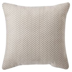 Target Home Herringbone Decorative Pillow Cream Opens In A New Window