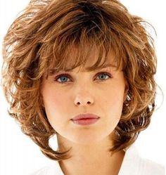 Curly Shag with Wispy Bangs-Curly Shag Haircuts for Short Medium Long Curls
