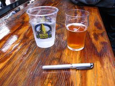 is the glass half empty or half full? Pliny the Younger beer Pliny The Younger, Local Seo, How To Make Beer, Pint Glass, Brewery, Tableware, Aldo, Empty, Dinnerware