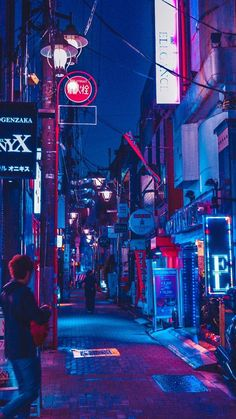 Neon nights in an alleyway in Shibuya Japan. When art and the city meets travel. The post Neon lights alley at night. Shibuya Japan appeared first on hintergrundbilder. Cyberpunk City, Ville Cyberpunk, Cyberpunk Kunst, Cyberpunk Aesthetic, Neon Aesthetic, Cyberpunk 2077, Cyberpunk Fashion, Cyberpunk Tattoo, Aesthetic Outfit