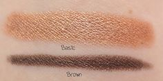 Eyeliner and Shadow Stick: Basic & Brown  http://www.eyeslipsface.com/studio/eyes/eyeliner/eyeliner_and_shadow_stick