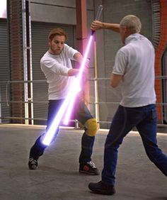 If you'll be in town May 25th-27th attending Comicpalooza, why not register for a 1.5 hour private Jedi Training Session with Star Wars stunt coordinator Nick Gillard. For 150 bucks, you can get Gillard's autograph and train to fight like a Jedi Knight. Or you might prefer a photo op with Star Trek's George Takei.  I wanna take a pic with Kevin Sorbo, the dreamiest Hercules ever!