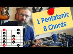 1 Pentatonic Scale over 8 Chords - Jazz Guitar lesson - YouTube