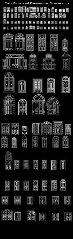 Best door design ideas – CAD Design | Free CAD Blocks,Drawings,Details