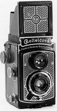 Vintage camera, pattern formsprak