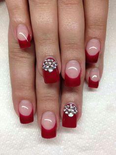 Acrylic nails  | See more nail designs at http://www.nailsss.com/acrylic-nails-ideas/2/