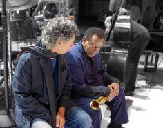 Chick Corea & Wayne Shorter Wayne Shorter, Chick Corea, Classic Jazz, Jazz Guitar, Jazz Musicians, Music Stuff, Over The Years, Revolution, Bomber Jacket