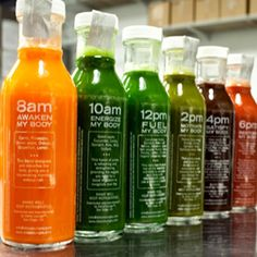 Drink These Six Delicious Fresh Pressed Juices That Will Awaken, Energize, Fuel, Motivate, Satisfy and Restore Your Body!