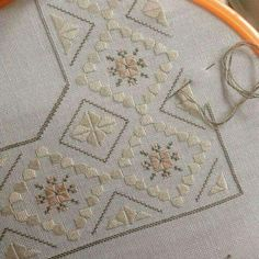Very delicate embroidery