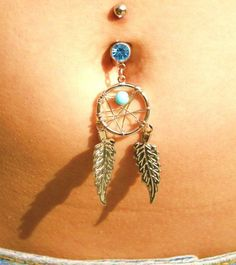 I kind of want to get my bellybutton pierced just so I can buy this belly button ring...