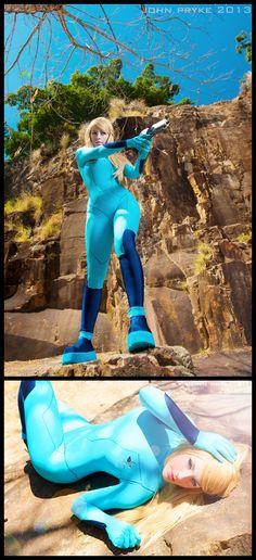 Samus, Zero Suit #Cosplay from Metroid