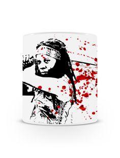 Caneca Walking Dead Michonne | Uma loja de caneca