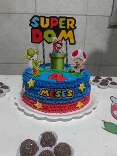 Super Mario Bros, Super Mario Party, Mario Bros Cake, Bolo Do Mario, Bolo Super Mario, Mario Birthday Cake, Super Mario Birthday, Teen Boy Cakes, Sheet Cake Designs
