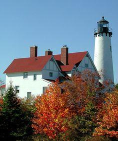 Port Iroquois Lighthouse, Michigan
