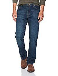 Wrangler Authentics Mens Classic Regular-Fit Jean – Plus Size Women's Clothing Jeans Fit, Jeans Style, Jeans For Men, Jeans Pants, Oversized Fashion, New Blue, Wrangler Jeans, Plus Size Jeans, Men Online