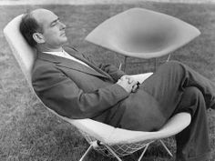 """Harry Bertoia: """"The urge for good design is the same as the urge to go on living."""" Harry Bertoia"""