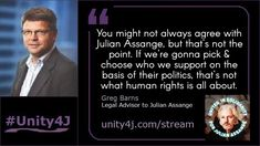 In a world of divide and conquer, unity is the ultimate act of resistance. Watch the full interview with Greg Barns during the Online Vigil in suppo. Legal Advisor, Quick Quotes, Barns, Unity, Interview, Politics, Political Books, Shed, Sheds