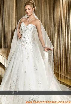502  Vestido de Novia  Demetrios Bride
