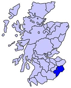Roxburghshire, Scotland - where my Rutherford ancestors came from.  So far as I know, they are the only family of my Border Reiver ancestors that came to the Colonies directly from Scotland - the others spent a few generations in Northern Ireland before making the trip across the Atlantic ocean.