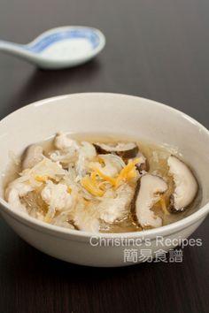 雞絲瑤柱魚翅瓜湯 Chicken Shark's Fin Melon Soup01