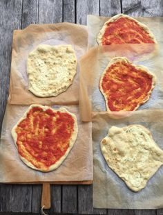 Fryste pizzabunner til travle dager — FAMILIEMAT Pepperoni, Nom Nom, Food And Drink, Pizza, Baking, Recipe, Tips, Lasagna, Bread Making