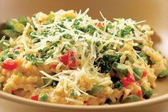 risotto-peterselie-italiaanse kruiden-vegetarisch