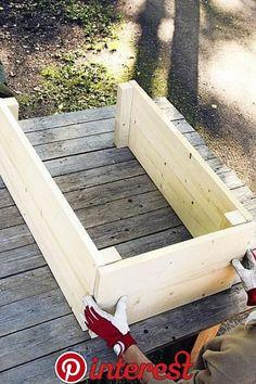 Jutta Terrasse Red Flower Garden – Garden Art Sculptures How to Car Wood Pallet Planters, Diy Planter Box, Diy Planters, Garden Planters, Garden Art, Balcony Gardening, Garden Landscaping, Back Gardens, Outdoor Gardens