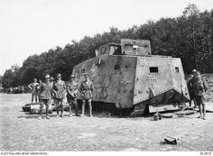 Mephisto - Rare WWI German tank exhibited in Australia - https://m.warhistoryonline.com/war-articles/mephisto-tank-australia.html