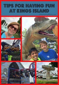 Tips for having fun at Kings Island in Cincinnati, Ohio with kids!