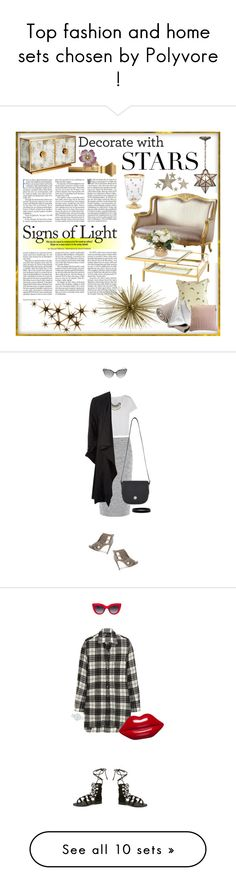 """Top fashion and home sets chosen by Polyvore !"" by azzra ❤ liked on Polyvore"