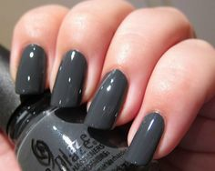 Fancy - Concrete Catwalk Nail Polish by China Glaze