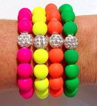 The Neon Series - Stretch Bracelet