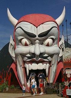 Dante's Inferno, at Miracle Strip Amusement Park. Panama City Beach, Fl.