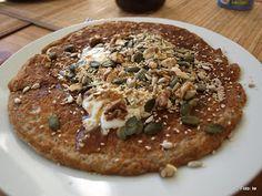 iw-kulinarnie: Energetyczny omlet owsiankowo-bananowy fit, Przepi...