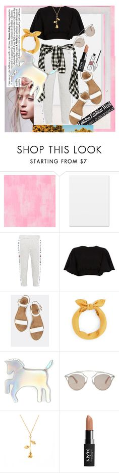 """""""Untitled #157"""" by unicornsyaa ❤ liked on Polyvore featuring Designers Guild, Tommy Hilfiger, River Island, WithChic, Christian Dior, NYX and Angelo"""