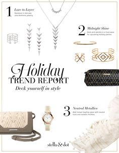 New Arrivals, Pre-Engraved Charms, Holiday 2015...   Stella & Dot Stylist Community