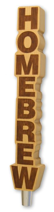 Tired of changing out tap handles for each homebrew keg? The HOMEBREW tap handle says it all. Mount the homebrew handle on any kegerator or kegging kit and pour all your favorite handcrafted home creations. Homebrew Keg, Beer Taps, House Made, Cold Brew, Kombucha, Home Brewing, Handle, Carving, Cool Stuff